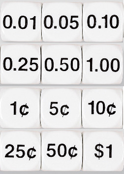 Money / Decimal Dice