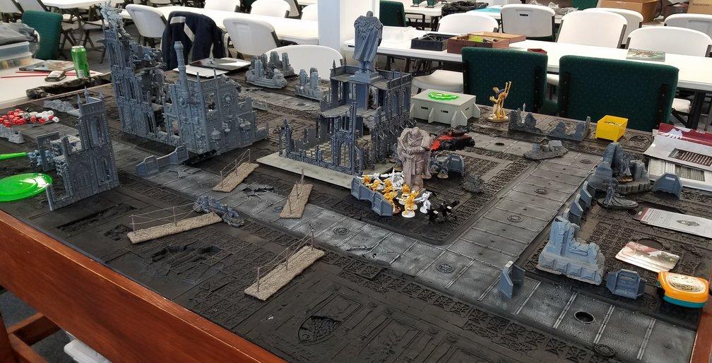 Warhammer 40k Game Table 02