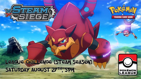 Steam Siege League Challenge in Nashua, NH