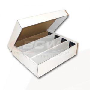 BCW Cardboard Storage Box - 3200 count