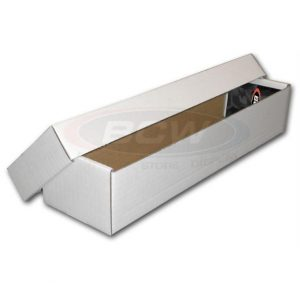 BCW Cardboard Storage Box 800 count 2 piece box