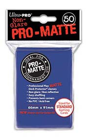 Ultra-Pro Sleeves Pro-Matte Example