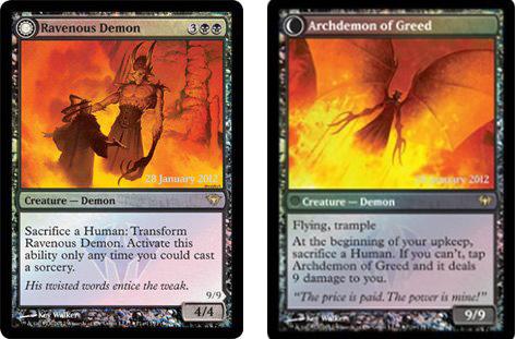 Dark Ascension Promo cards