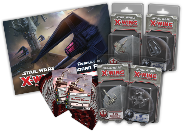 Star Wars X-Wing Prerelease Kit