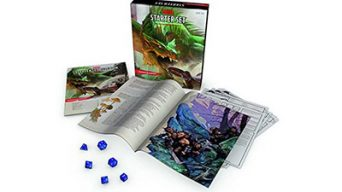 Dungeons & Dragons Starter Set components