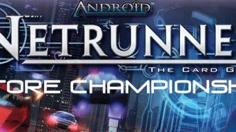 Netrunner Store Championship Banner