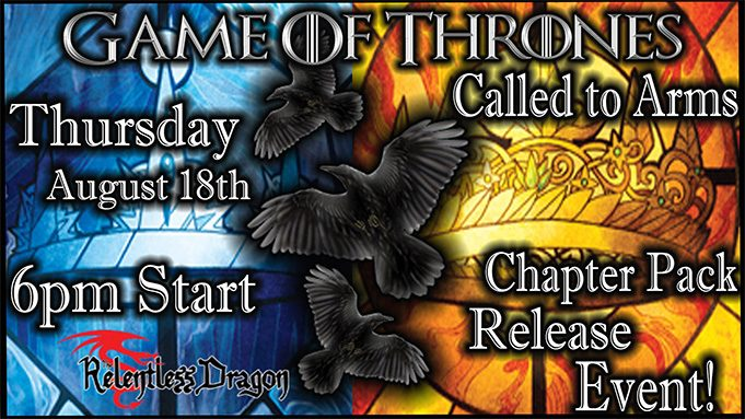 Game of Thrones Call to Arms Chapter Pack Event Banner