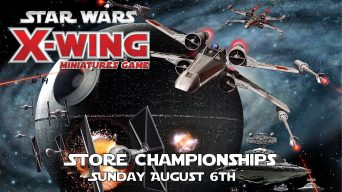 X-Wing Store Championships Banner