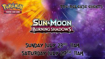 Burning Shadows Prerelease Banner