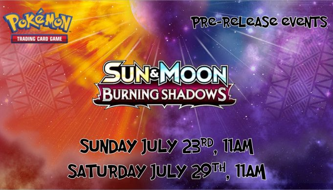 Burning Shadows Prerelease Banner