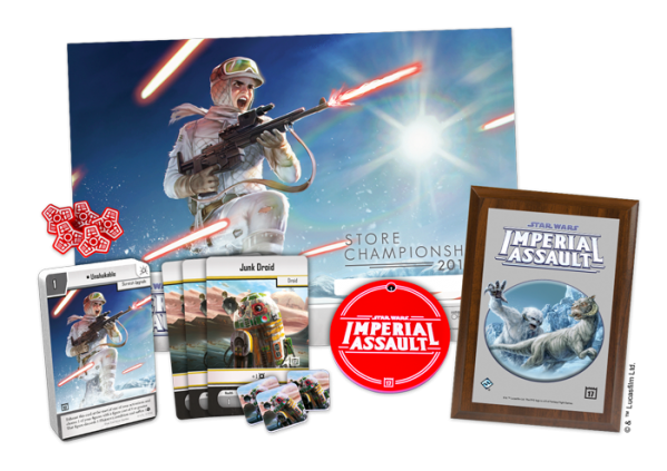 Star Wars Imperial Assault prizes