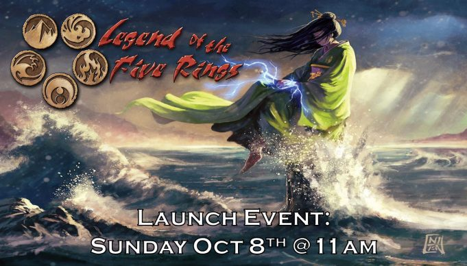 Legend of the Five Rings Launch Event Banner