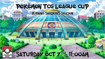Pokemon Burning Shadows League Cup Banner