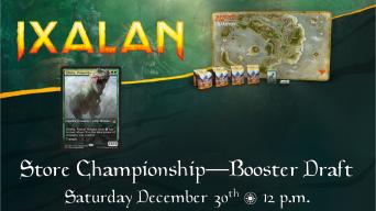 Ixalan Store Championship Banner