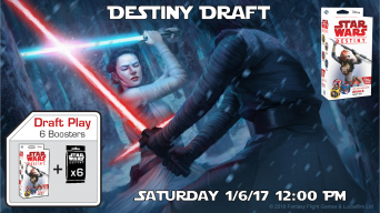 Star Wars Destiny Draft Banner