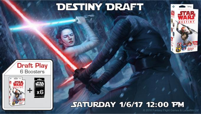 Star Wars Destiny Draft Banner