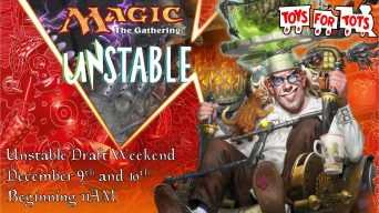 Unstable Draft Weekend Banner