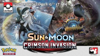 Pokemon Crimson Invasion League Challenge Banner