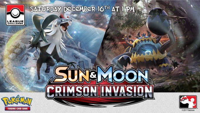 Pokemon Crimson Invasion League Challenge Banner