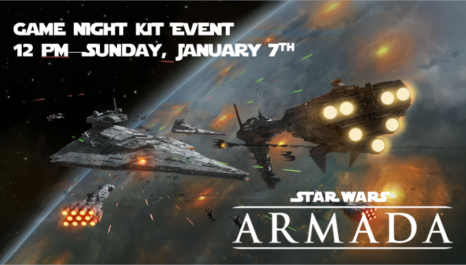 Star Wars Armada Game Night Kit Event Banner
