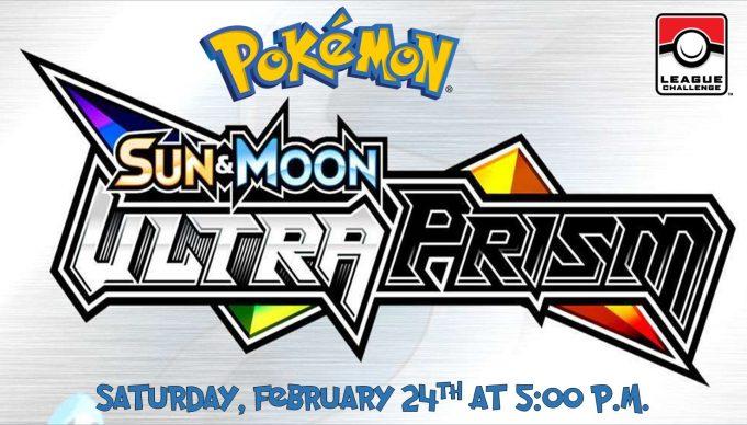 Pokemon Ultra Prism League Challenge Banner
