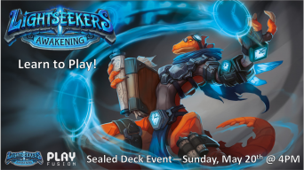 Lightseekers Learn to Play Event Banner