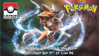 Pokemon Forbidden Light League Challenge Banner