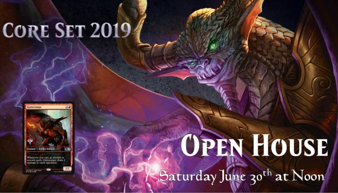 Core Set 2019 Open House Banner