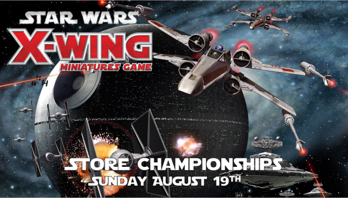 Star Wars X-Wing Store Championships 2018 Banner