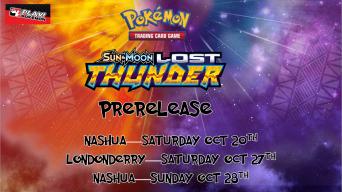 Pokemon Lost Thunder Prerelease Banner