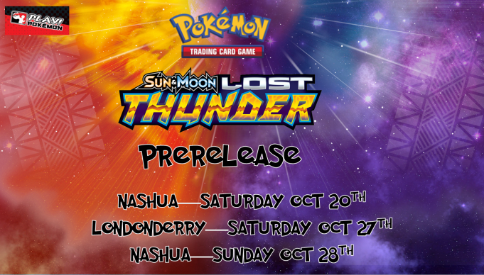 Pokemon Lost Thunder Prerelease Banner