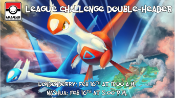 League Challenge Double Header Feb 16 2019 Banner