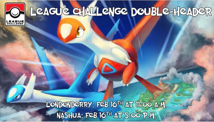 League Challenge Double Header Feb 16 2019 Banner