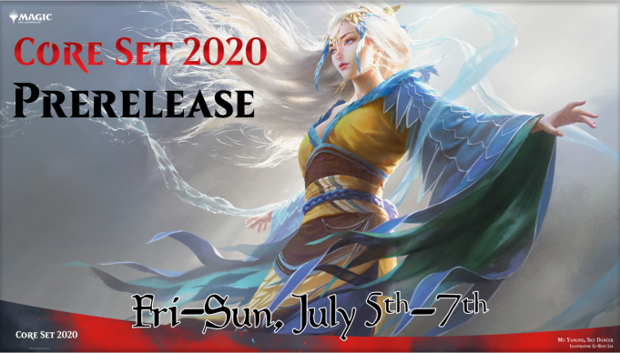Magic: the Gathering Core Set 2020 Prerelease Banner