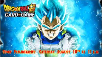 Dragon Ball Super Card Game National Store Preliminaries Banner