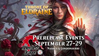 Throne of Eldraine Prerelease Banner