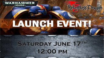40k Launch Event Banner