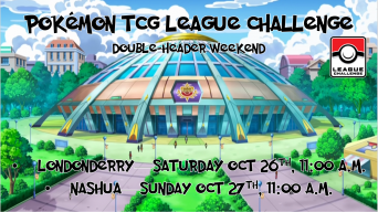 Pokemon League Challenge October 2019 Banner