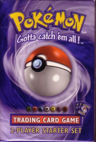 Pokemon 2-player Starter Set