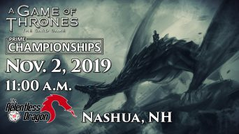 A Game of Thrones Prime Championships Banner