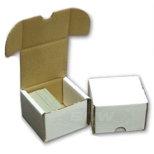200-count BCW Cardboard Trading Card Storage Box