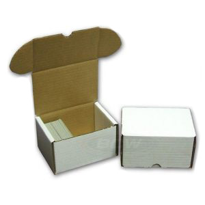 330-count BCW Cardboard Trading Card Storage Box