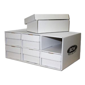 Shoe House BCW Cardboard Trading Card Storage Box