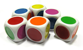 Koplow Color Spot Dice