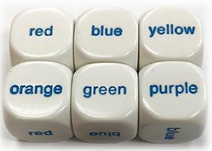 Koplow Color Word Dice