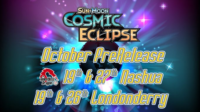 Cosmic Eclipse Prerelease Event Advertisement