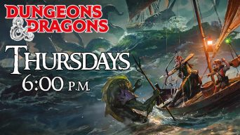 Dungeons and Dragons Event Advertisement