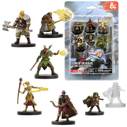 D&D Minis - Icons of the Realms Epic Level Starter Set