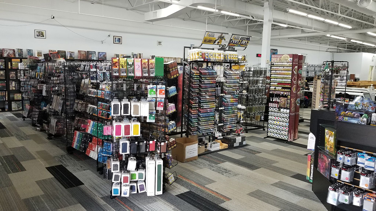 Front Area of Store