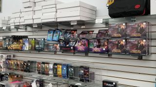 Magic: the Gathering Shelves